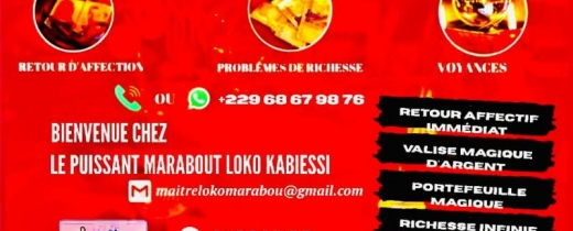 puissant marabout africain +229 68 67 98 76